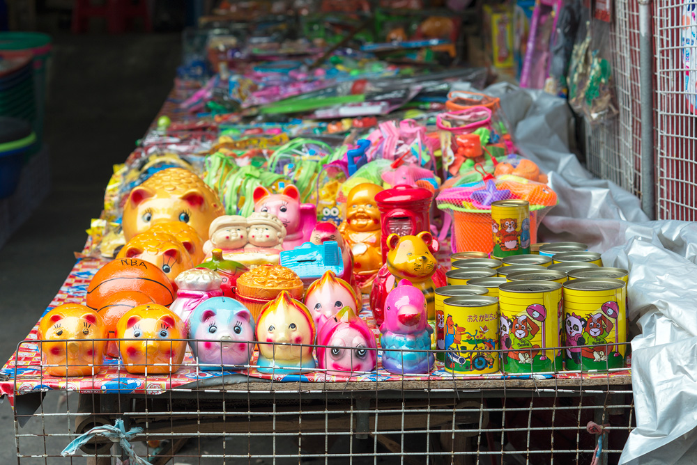 6 neighborhood huay kwang market