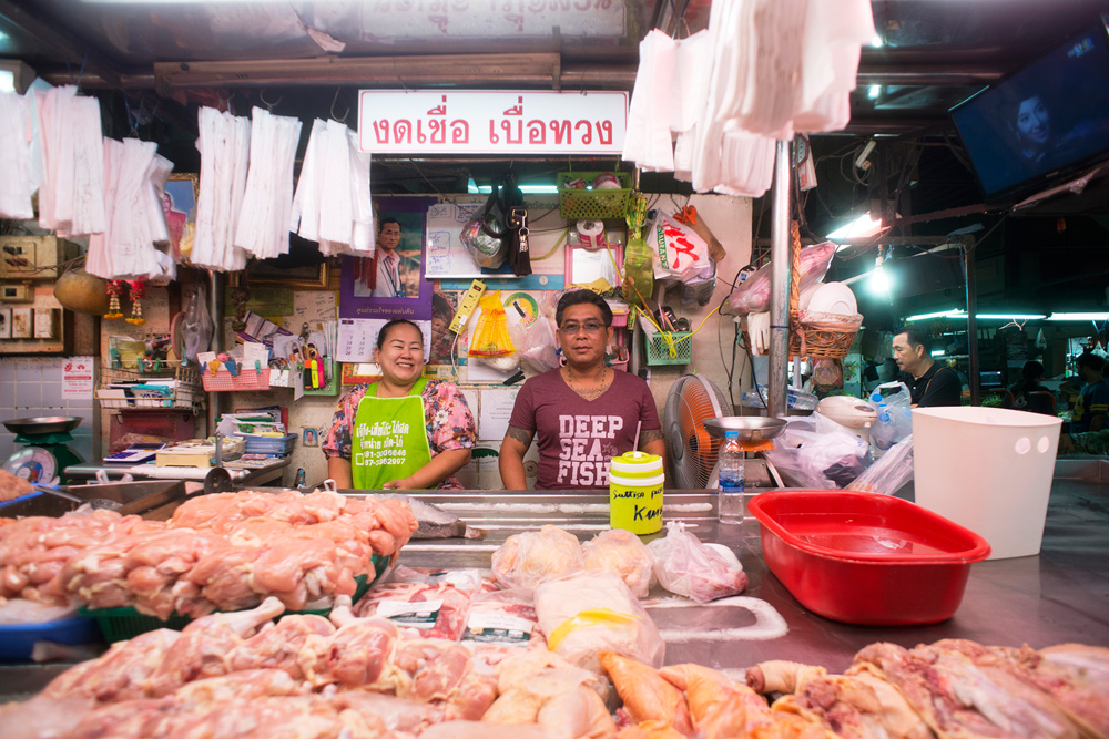 9 neighborhood huay kwang market