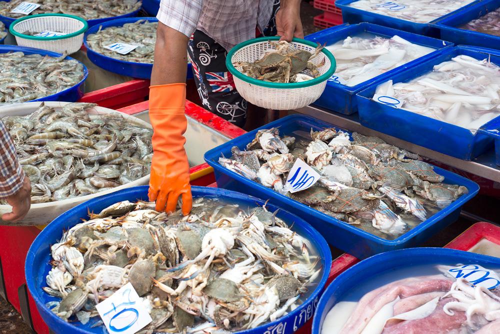 5 neighborhood klong toei crab