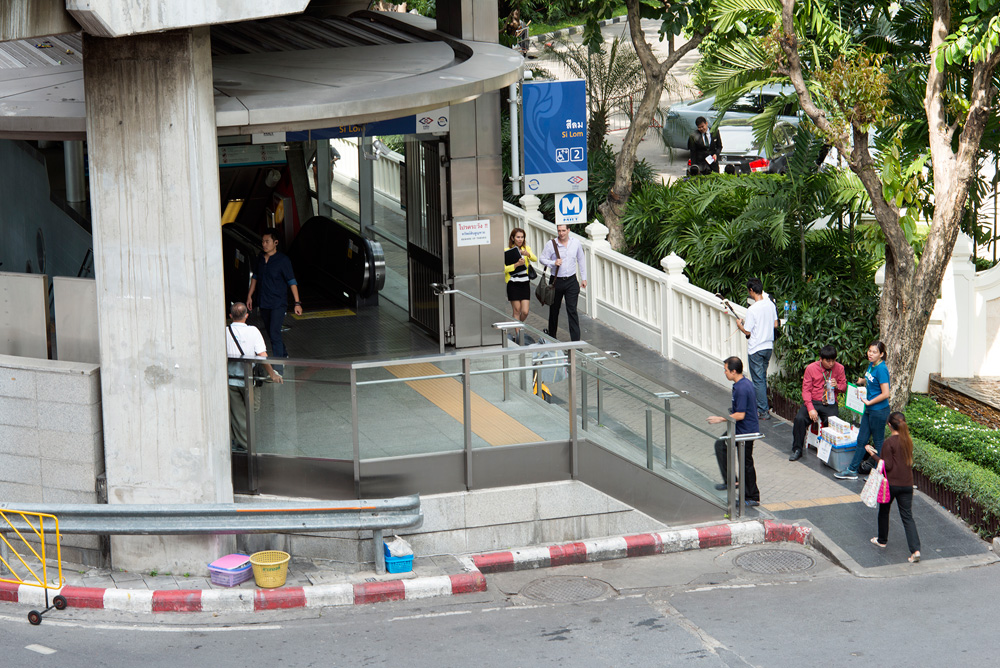 5 neighborhood silom mrt