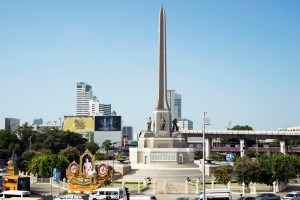 Neighborhood Victory Monument
