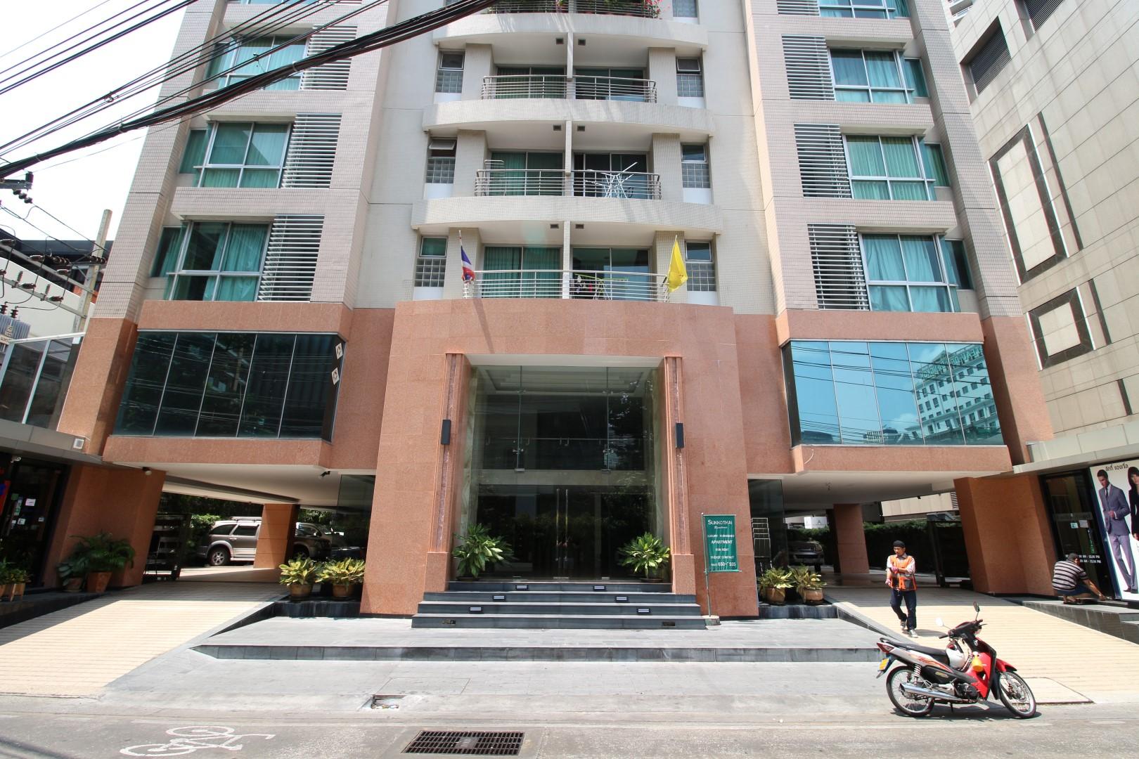 sukhothai residence facade