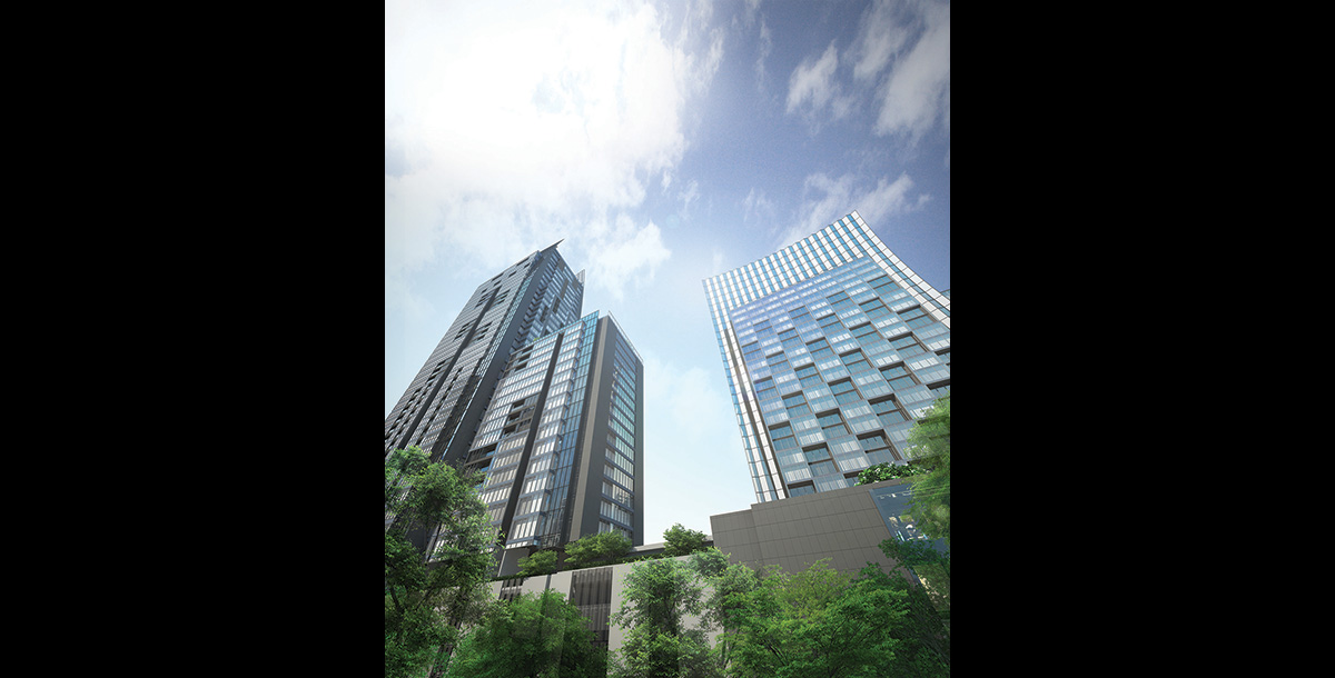 The One Residence Agency's Condo for Rent 2 Bedrooms at Hyde Sukhumvit 4