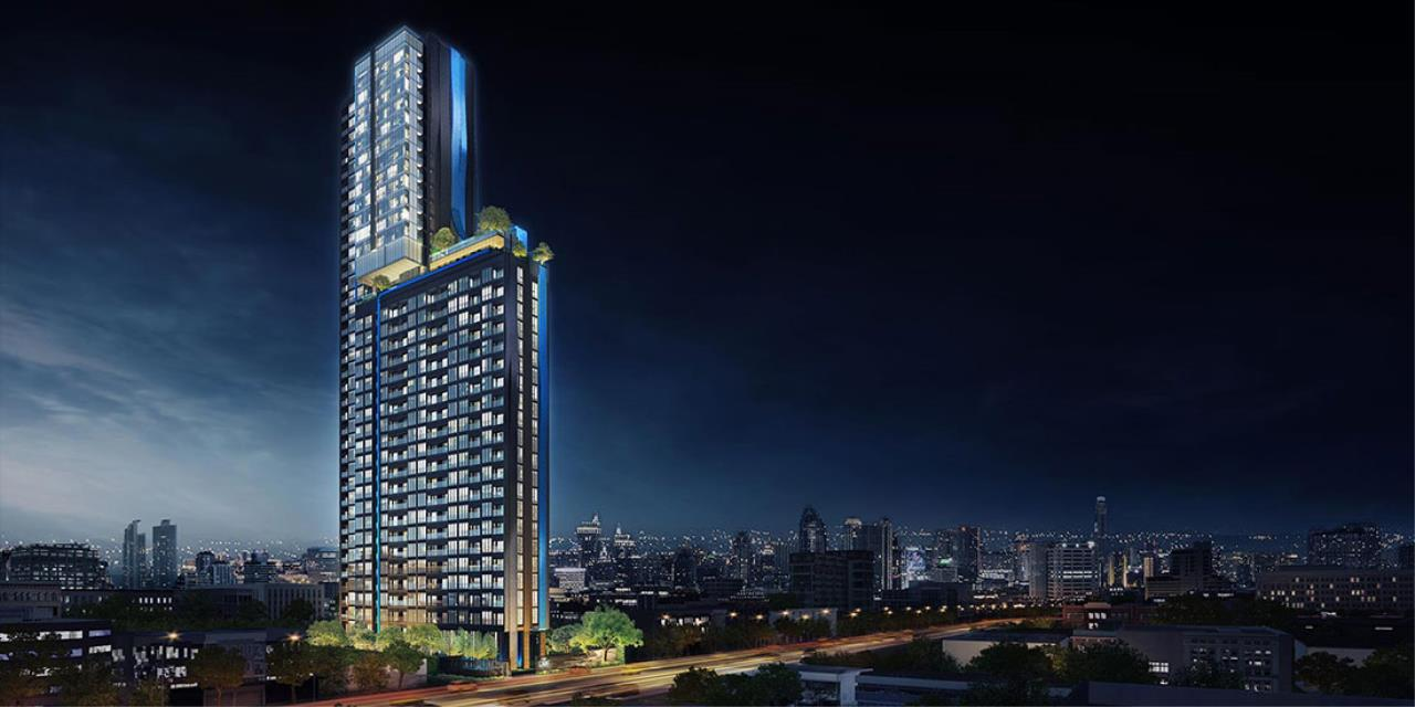 Sansiri Agent Relations Agency's The Line Asoke Ratchada ,Unit.462 Recommended, 34.25 SQM, 37 Floor 1