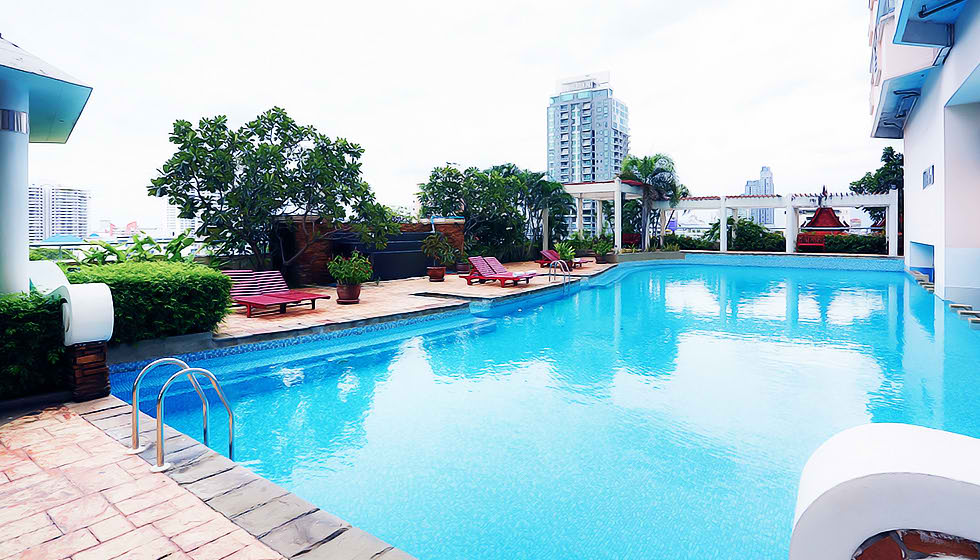 The One Residence Agency's condominium for rent at The Waterford Diamond , 2BR , 2BA , 85SQM 2