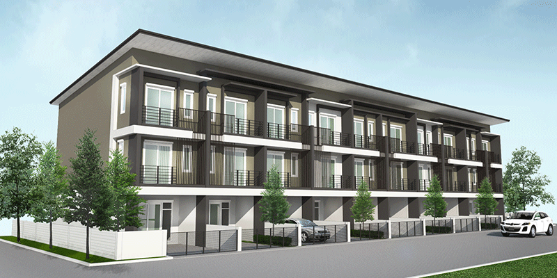 residence 77th 3d rendering exterior 2