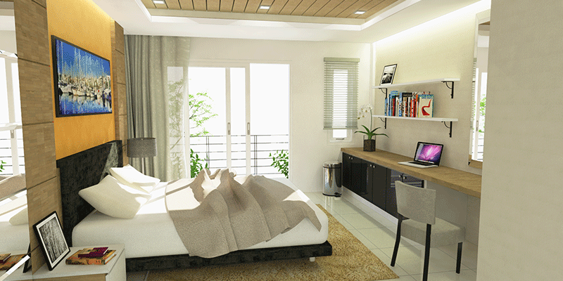 residence 77th 3d rendering interior 1