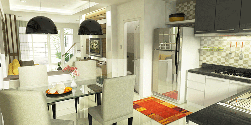 residence 77th 3d rendering interior 2