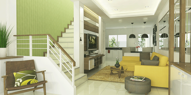 residence 77th 3d rendering interior 3