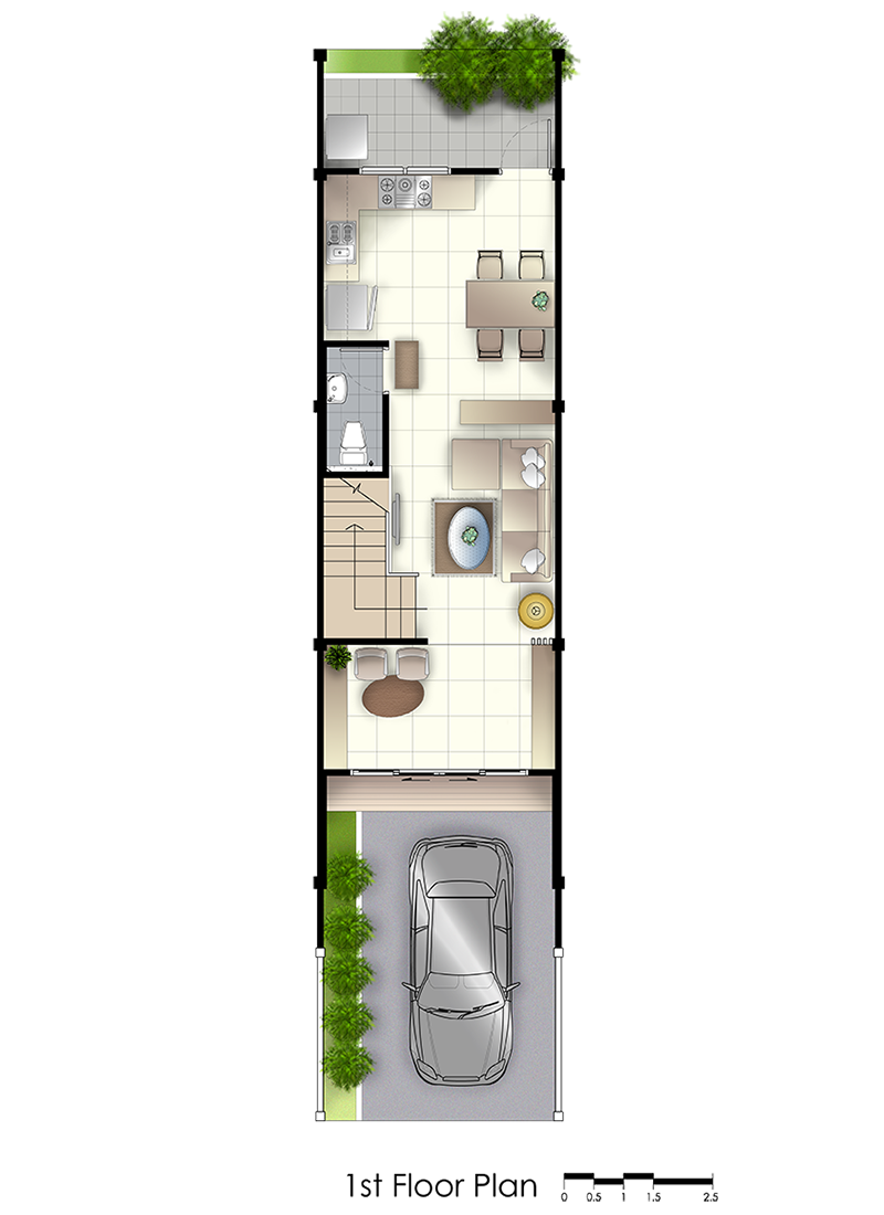 residence 77th floorplan first floor