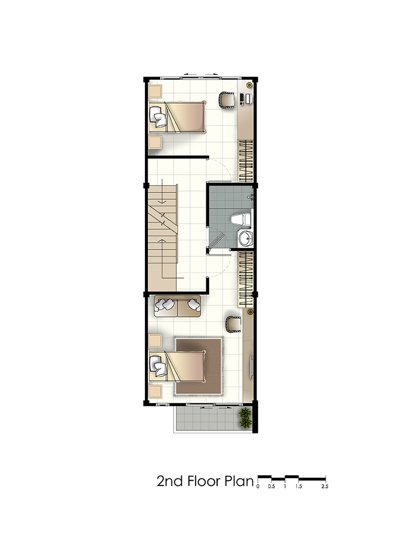 residence 77th floorplan second floor