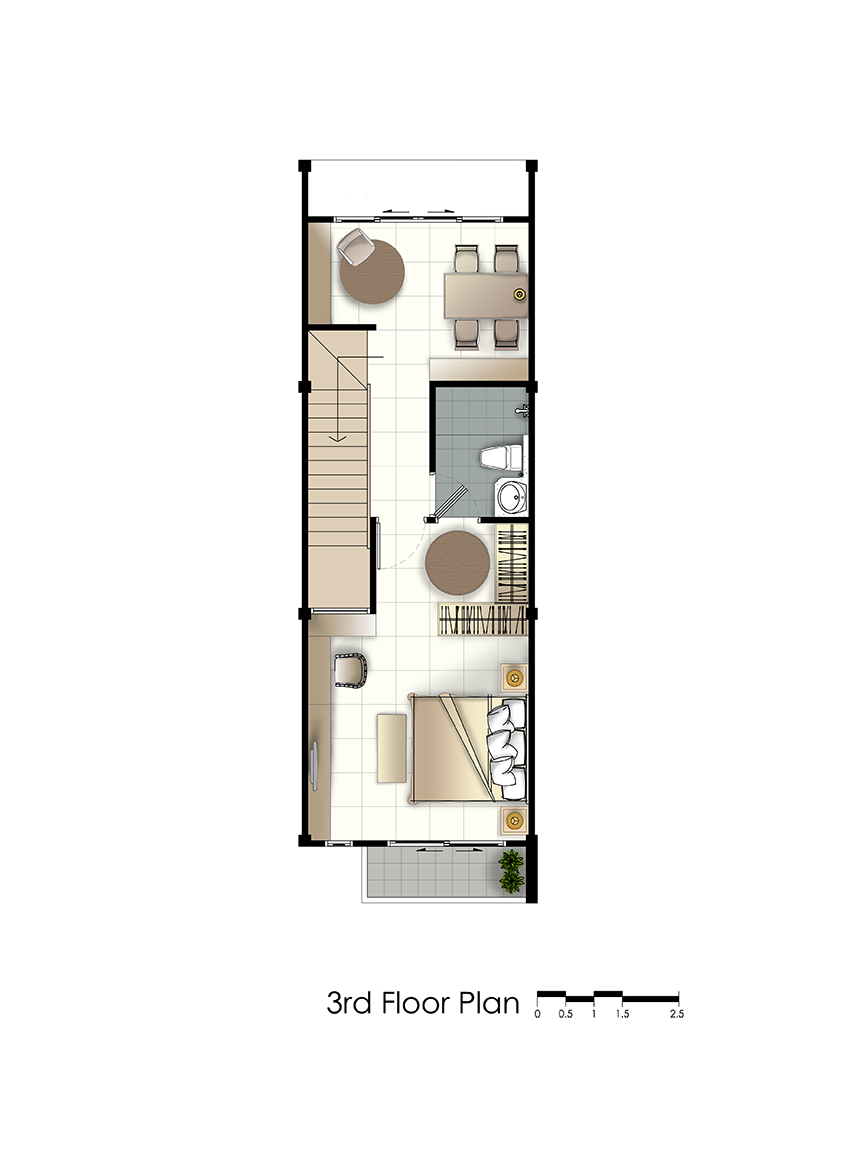 residence 77th floorplan third floor