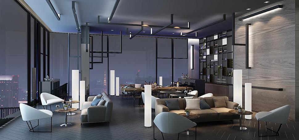 aq aria asoke bangkok condo 3d facility interior 1