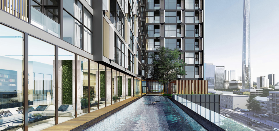 aq aria asoke bangkok condo 3d facility pool 2