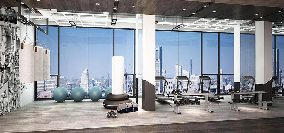 aq aria asoke bangkok condo 3d fitness 1