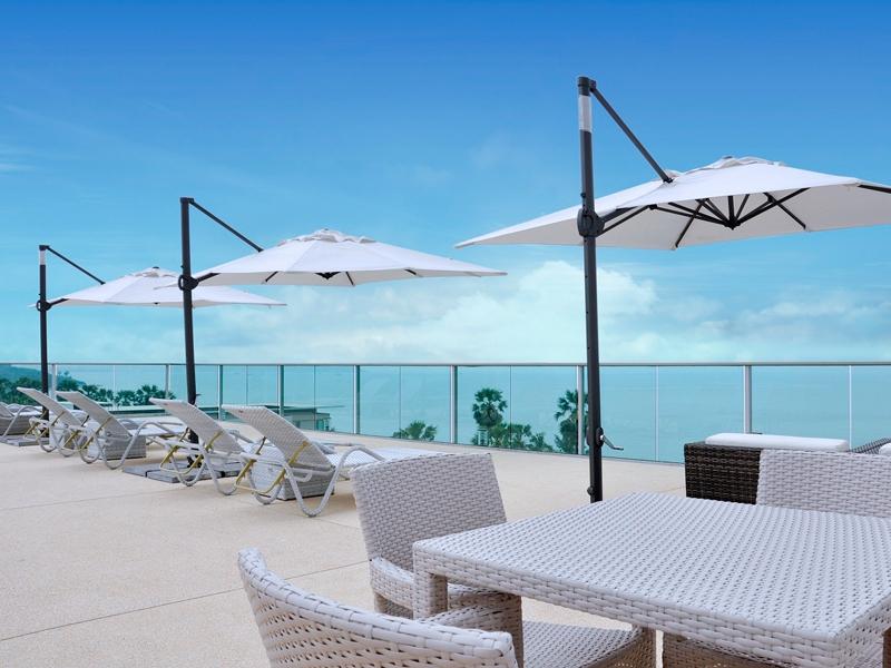 gallery rooftop sun deck
