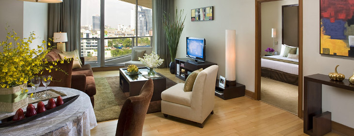 The One Residence Agency's Condo for Rent 2 Bedrooms at Ascott sathorn 1