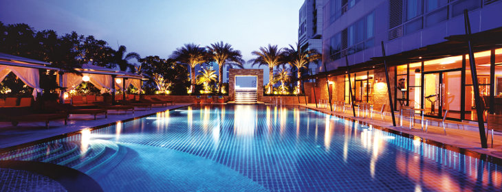 pbanner ascott sathorn bangkok swimming pool