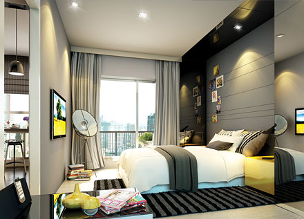 rhythm%20sathorn%20narathiwas%20 %20bedroom