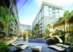 Project Centara Avenues Residence & Suites Pattaya