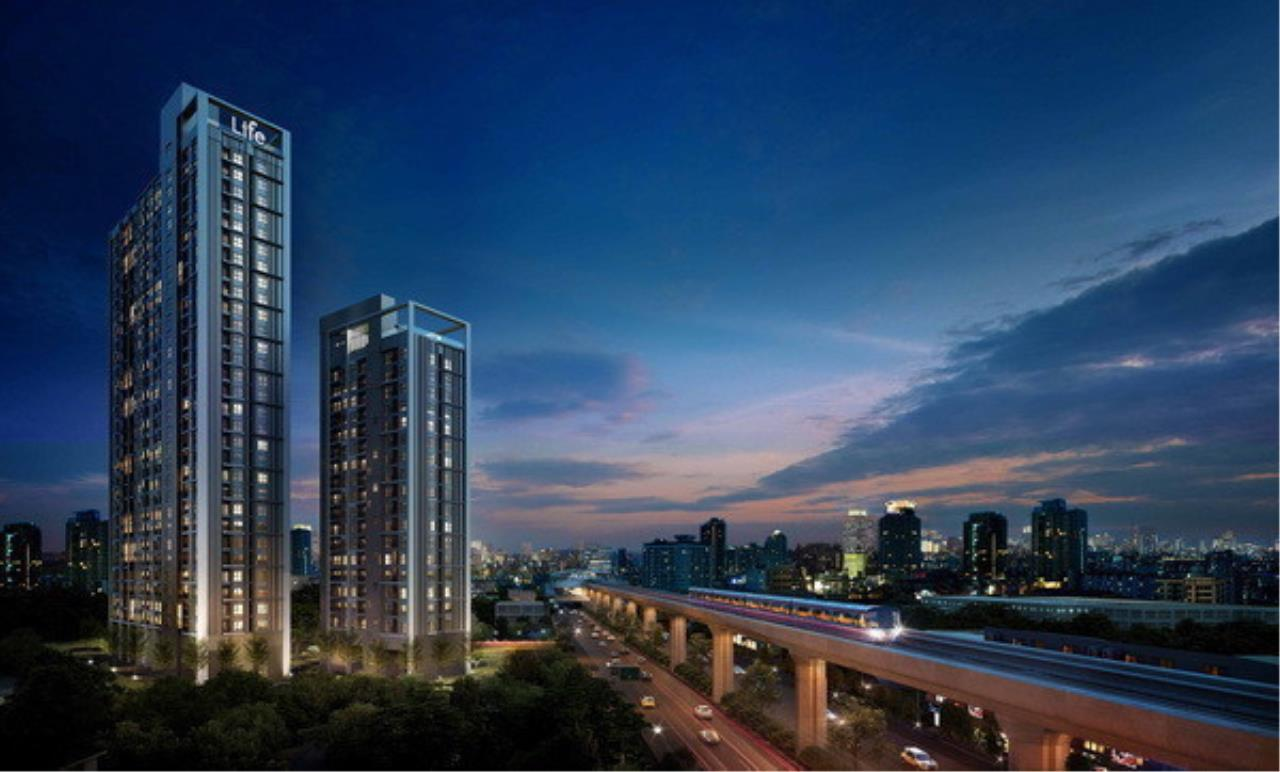 The One Residence Agency's Condo for Rent 2 Bedrooms at Life @ Sukhumvit 48 1