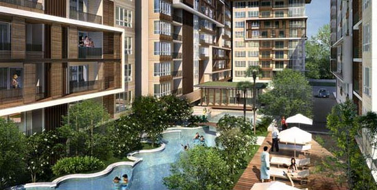 The One Residence Agency's Condo for Sale Or Rent 1 Bedrooms at The Clover 4