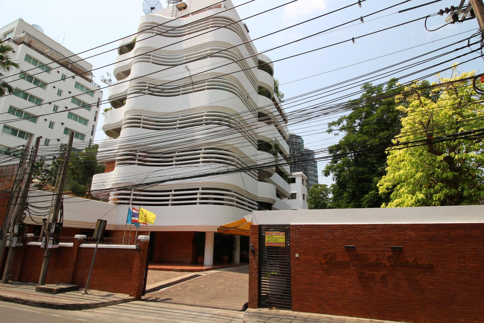 ruam rudee penthouse facade