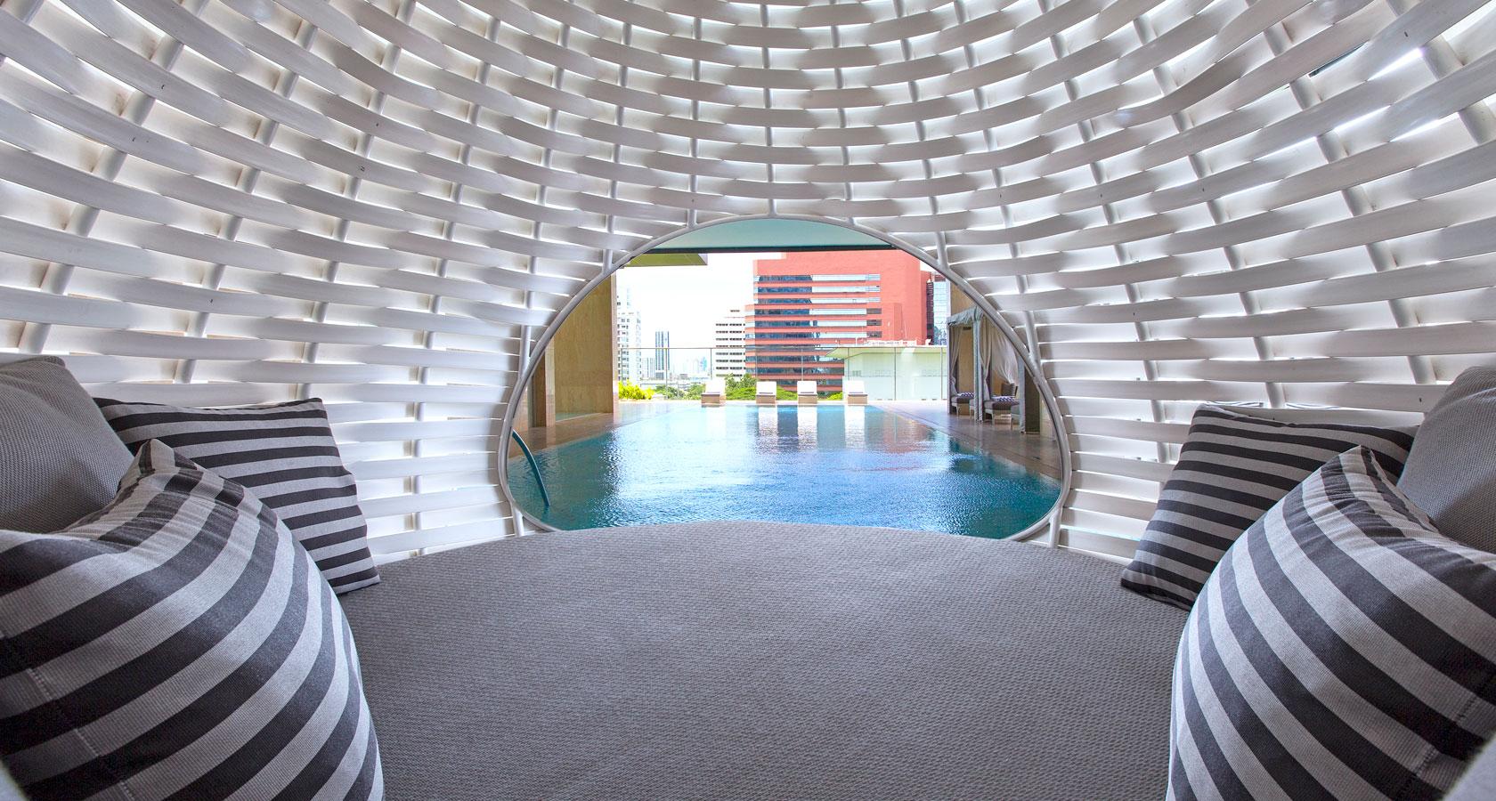 oriental residence pool 1