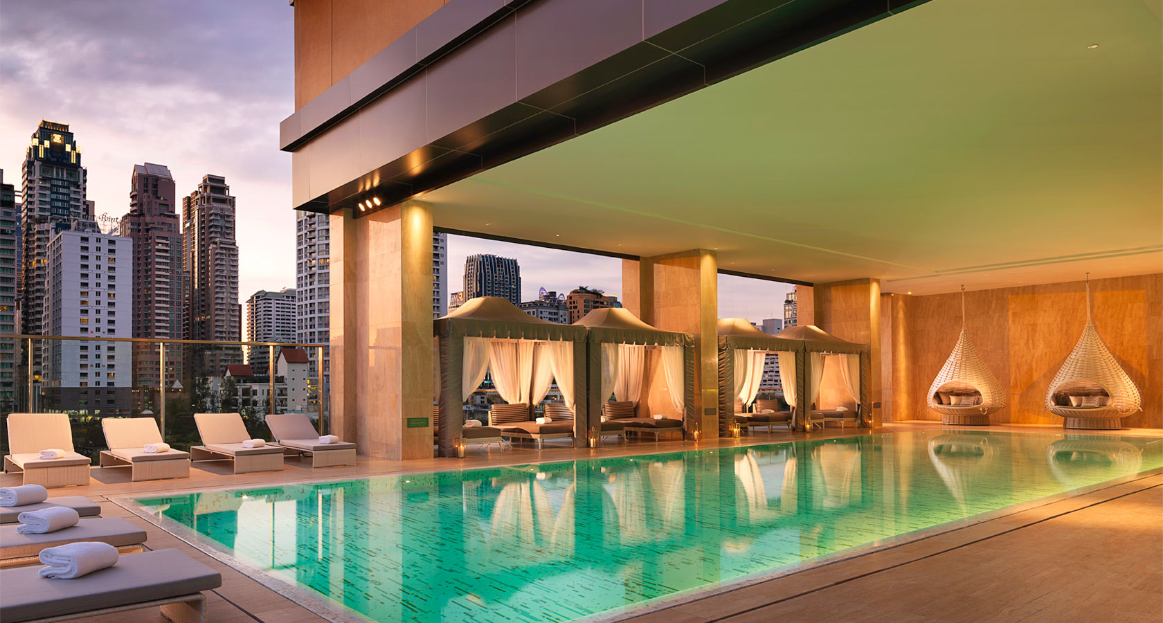 oriental residence pool 3