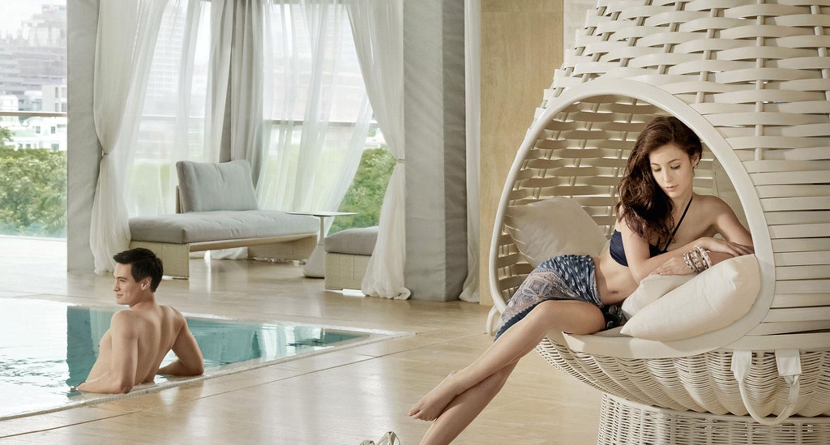 oriental residence pool 4