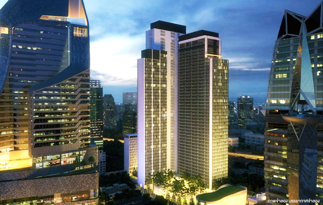 The One Residence Agency's Condo for Rent 1 Bedrooms at Noble Ploenchit 2