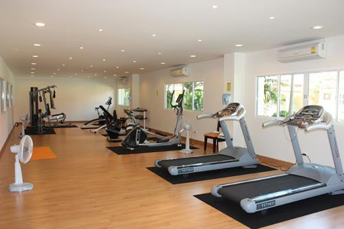 bang sarey nordic resort facility fitness 2