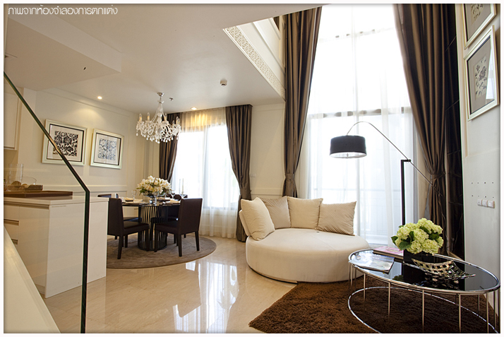 The One Residence Agency's condominium for rent at Villa Asoke , 1BR , 1BA , 48SQM 2