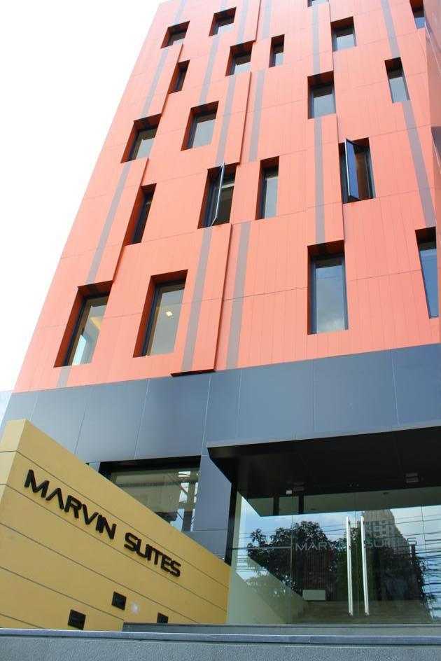 marvin suites bangkok facade 1