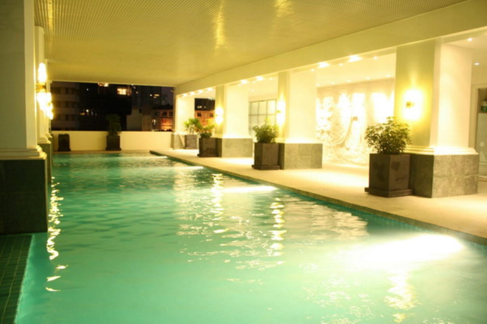 le raffine jambu dvipa sukhumvit 39 facility pool