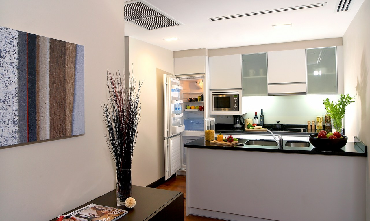 fraser%20suites%20sukhumvit%20 %20kitchen