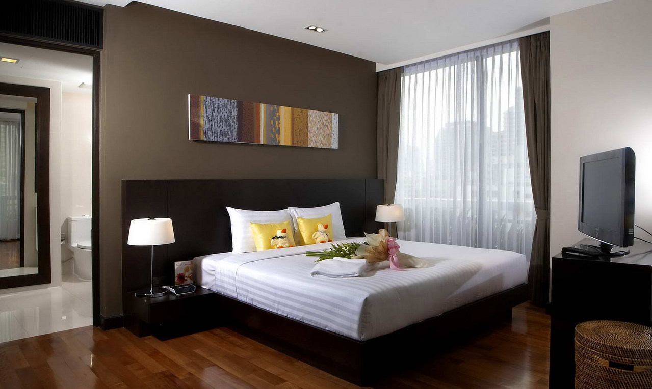 fraser%20suites%20sukhumvit bedroom