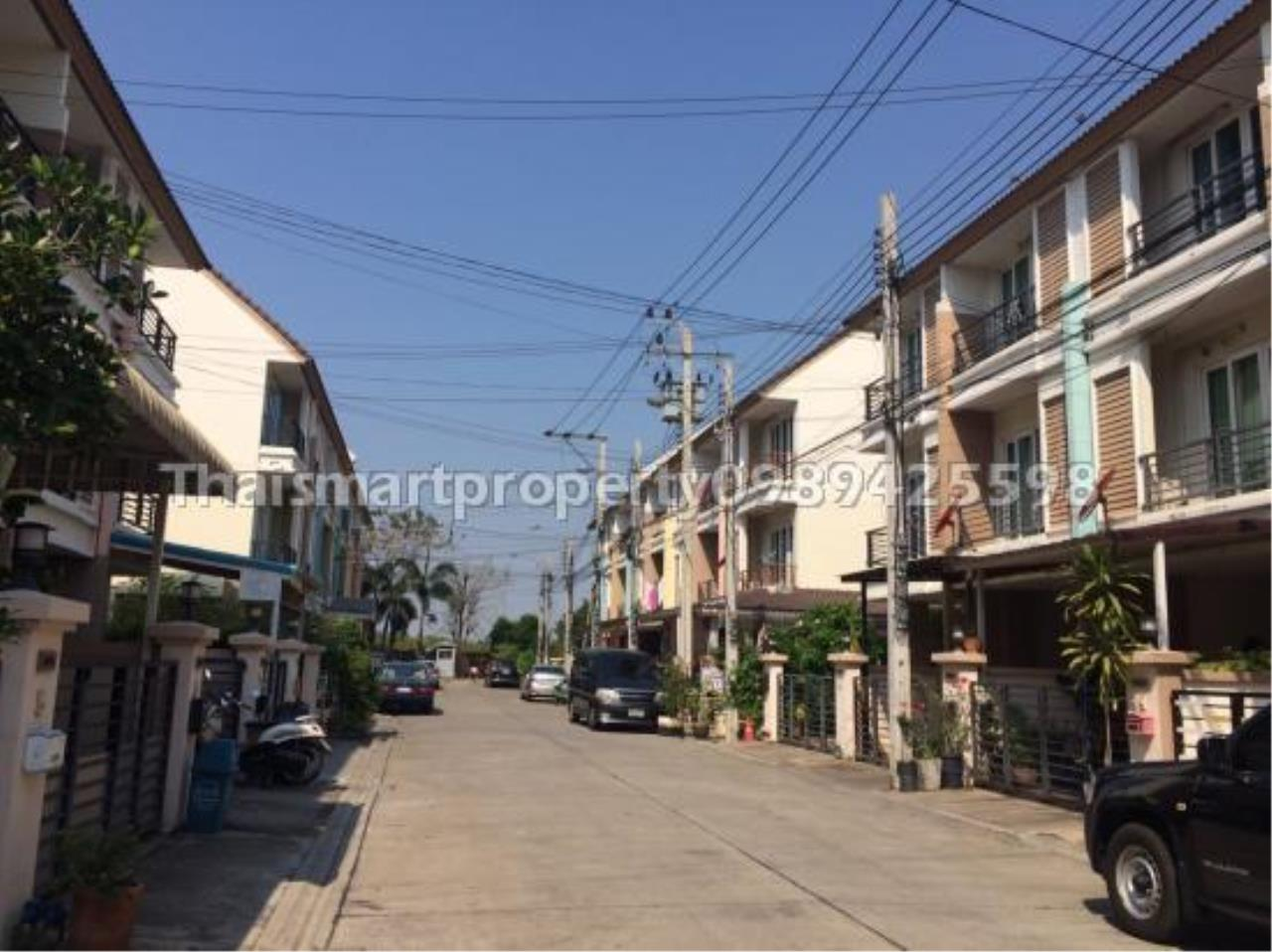 Thai Smart Property Agency's 3 storey townhome for sale, Casa City Sukontasawat 2 11