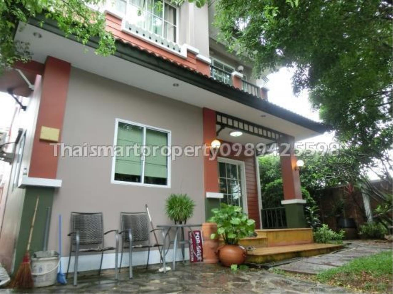 Thai Smart Property Agency's Chaiyapruek Village Rangsit Klong 4 single detached house. 2