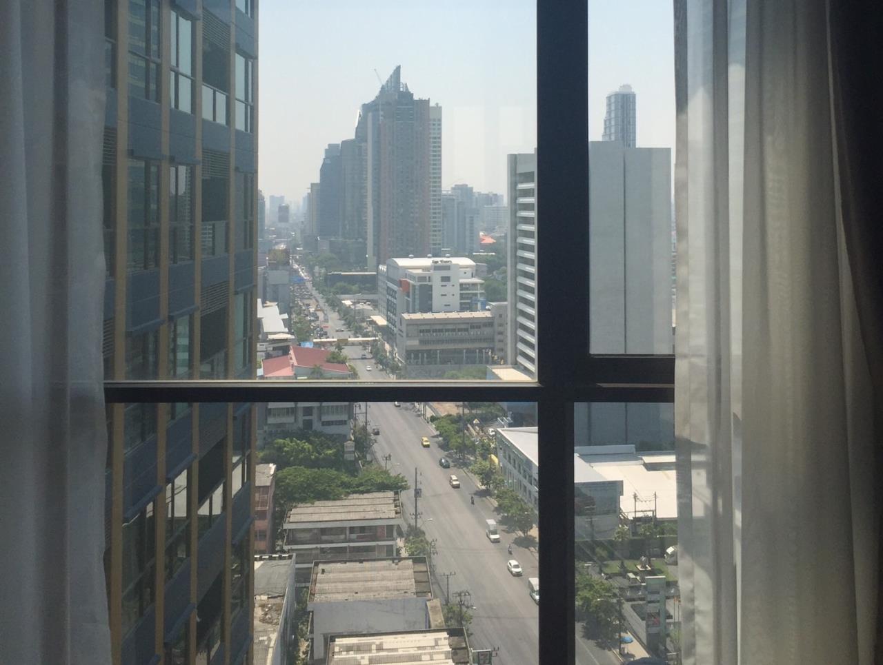 Agent - Aiyarat Agency's for rent Lpn suite petchburi makkasan 35sqm 22fl 2