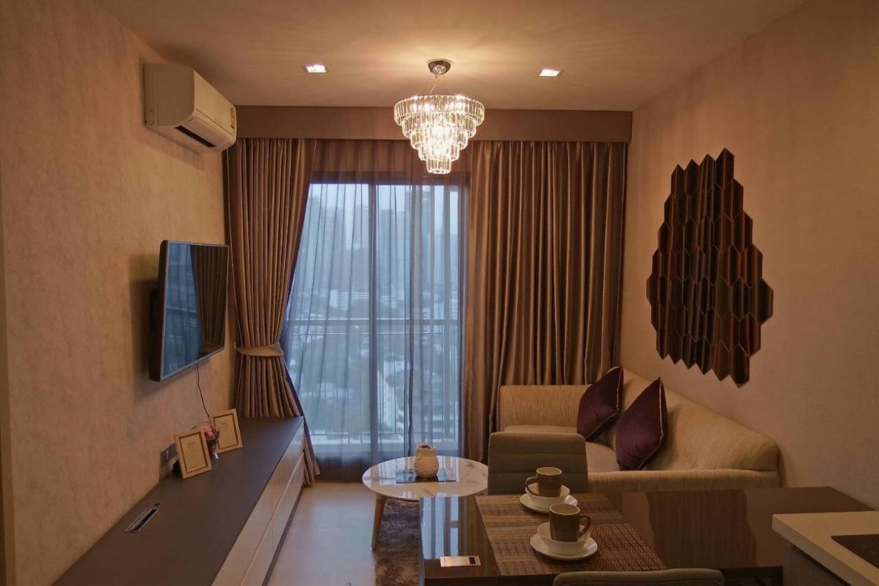 Agent - Aiyarat Agency's for rent Rhythm 36-38 33sqm 19fl 11