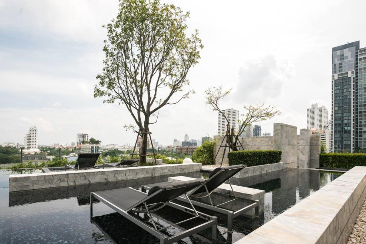 Hostmaker Bangkok Agency's Gorgeous 1bed1Bath in condo HQ by Sansiri 28
