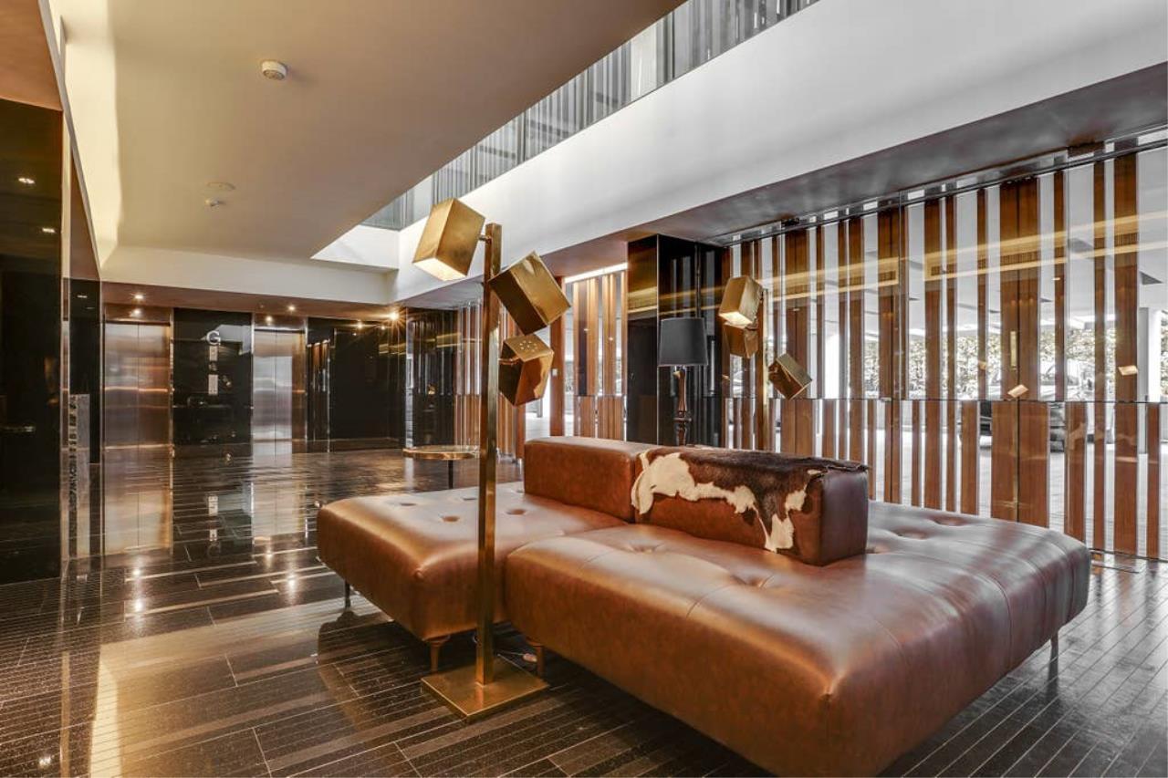 Hostmaker Bangkok Agency's Charming 1 Bed Apt w/ Balcony in Via 49 Condo 36