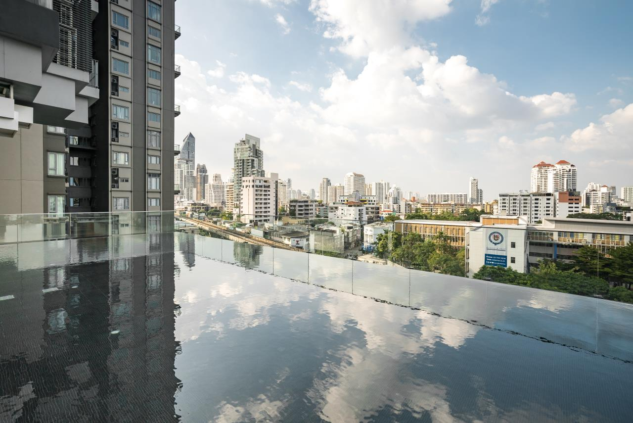 Hostmaker Bangkok Agency's Cosy & Chic 1bed Great Views in Keyne by Sansiri Condo 44