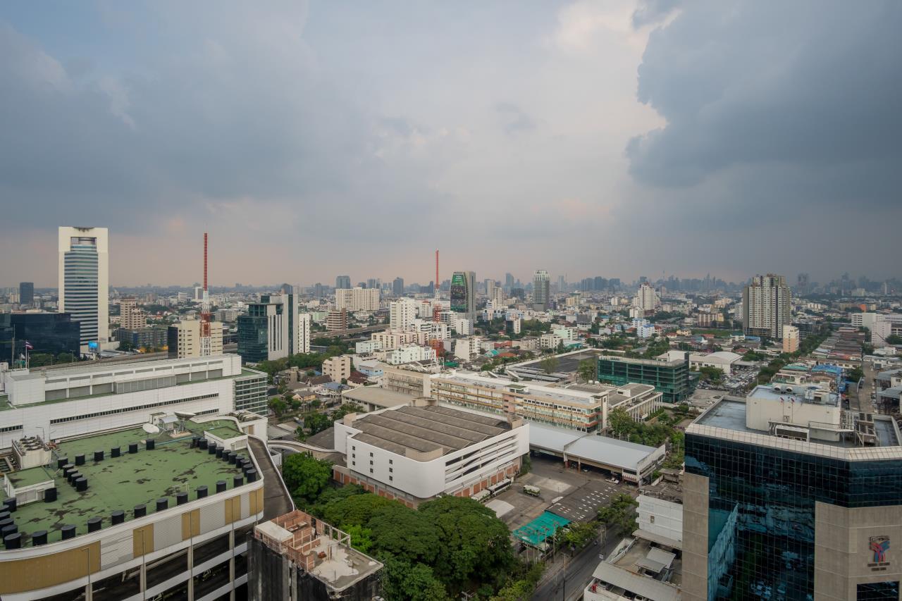 Hostmaker Bangkok Agency's Sophisticated 1bed -The Line Jatukak-Mochit Condo 25