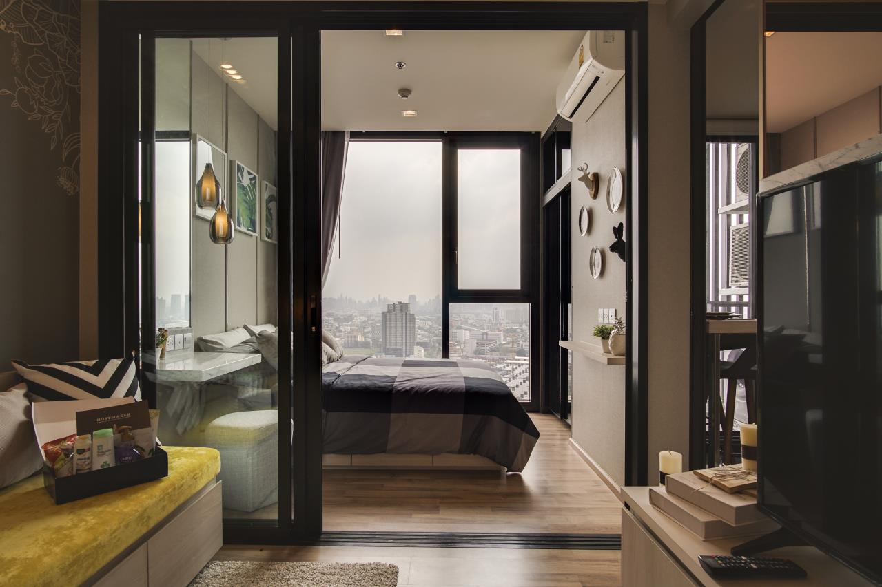Hostmaker Bangkok Agency's Sophisticated & Cosy 1Bed in The Line Jatujak-Mochit Condominium 3