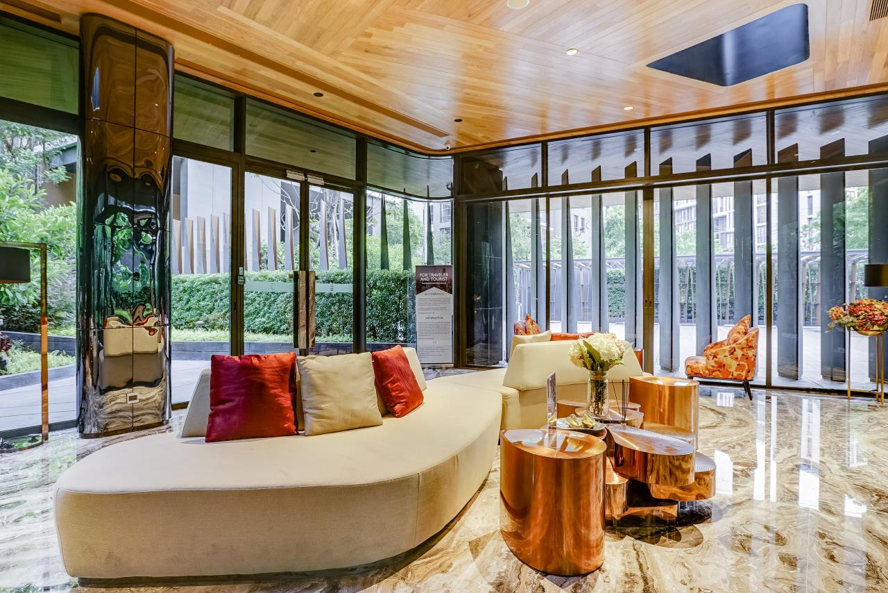 Hostmaker Bangkok Agency's Stunning 1 Bed Apt w/ Balcony in Mori Haus Condo 36