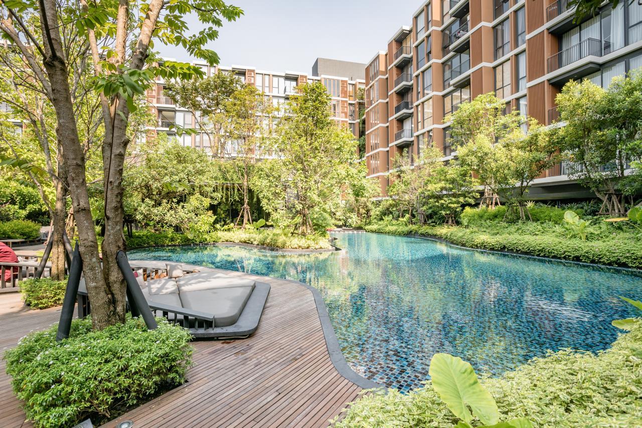 Hostmaker Bangkok Agency's Stunning 1 Bed Apt w/ Balcony in Mori Haus Condo 27
