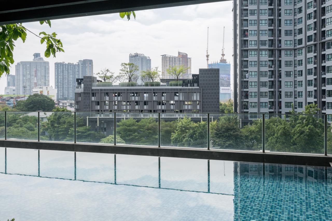 Hostmaker Bangkok Agency's Cosy 1bed w/Balcony in The Base Park East Condominium 37