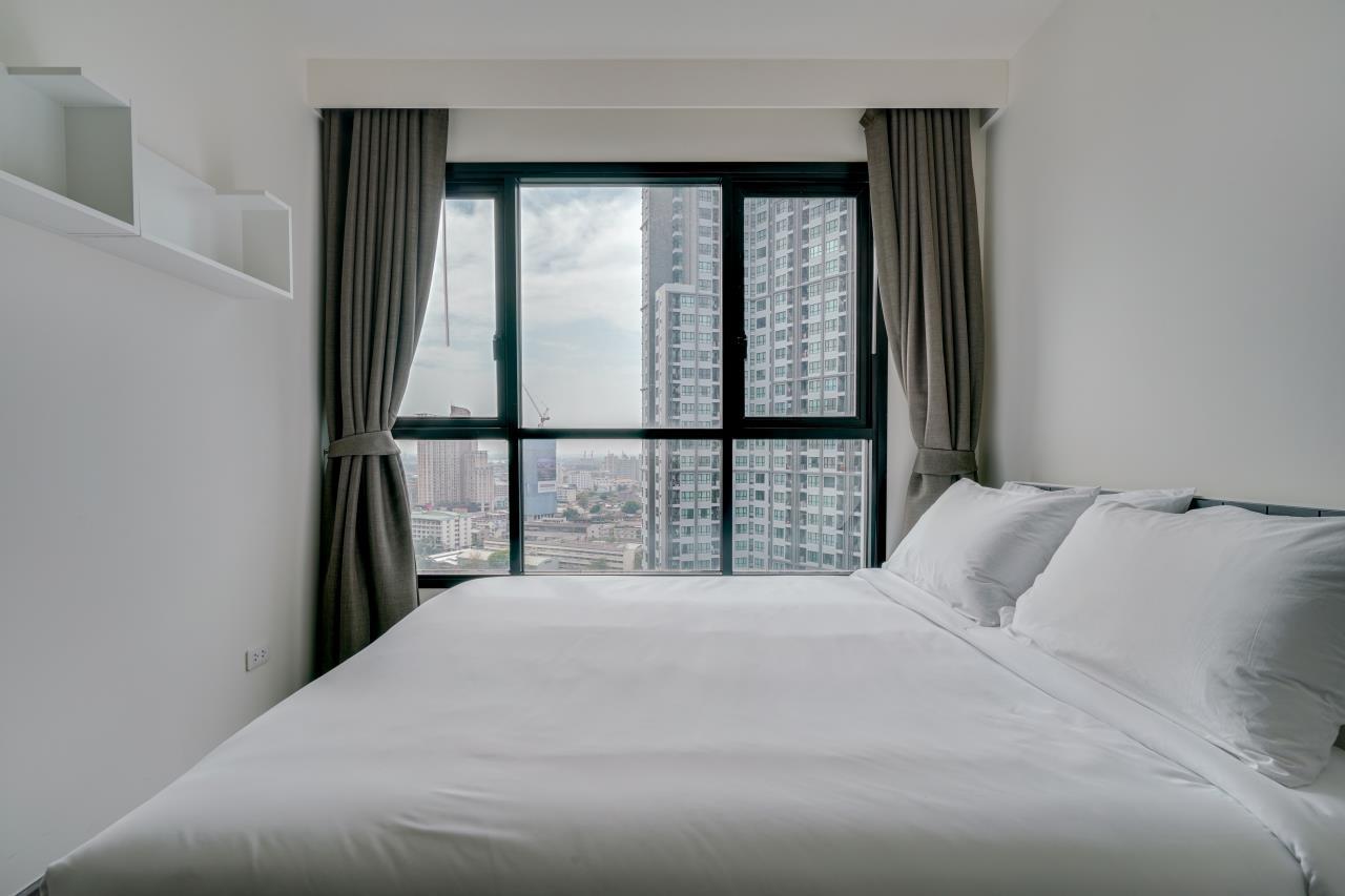 Hostmaker Bangkok Agency's Cosy 1bed w/Balcony in The Base Park East Condominium 16
